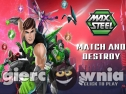 Miniaturka gry: Max Steel: Match and Destroy